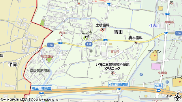 〒649-6246 和歌山県岩出市吉田の地図