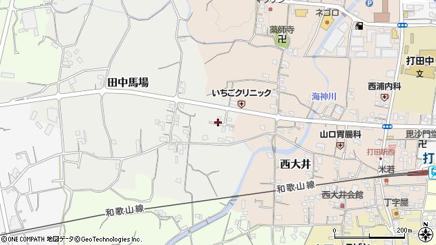 〒649-6421 和歌山県紀の川市田中馬場の地図