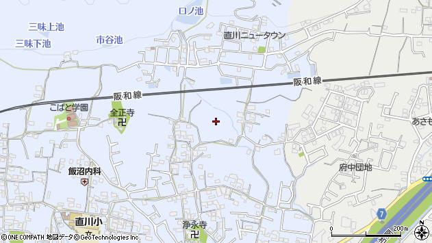 〒640-8481 和歌山県和歌山市直川の地図
