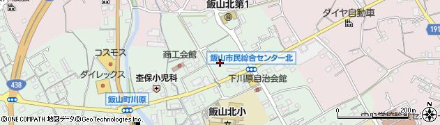 香川県丸亀市飯山町川原下川原周辺の地図