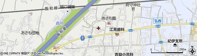 和歌山県和歌山市府中周辺の地図