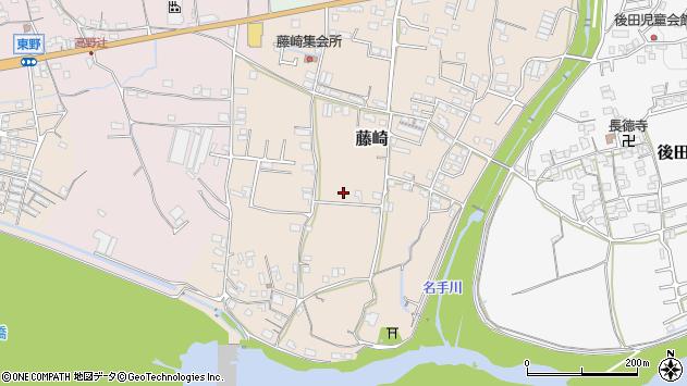〒649-6623 和歌山県紀の川市藤崎の地図