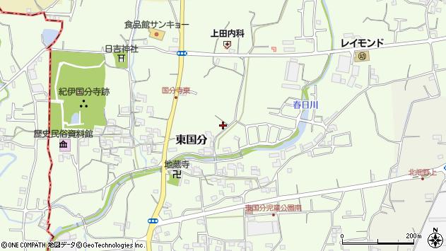 〒649-6428 和歌山県紀の川市東国分の地図