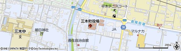 香川県三木町(木田郡)周辺の地図