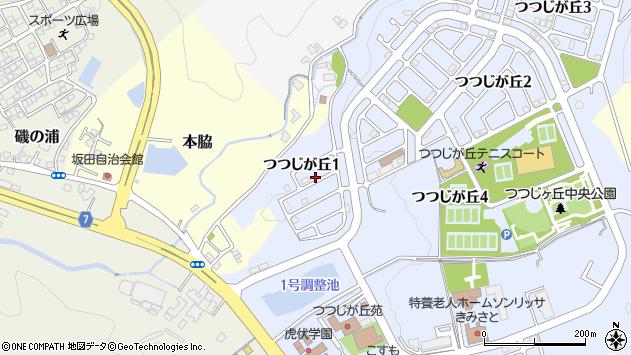 〒640-0115 和歌山県和歌山市つつじが丘の地図