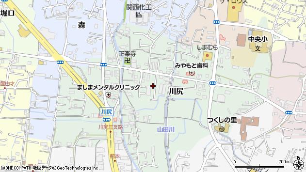 〒649-6231 和歌山県岩出市川尻の地図