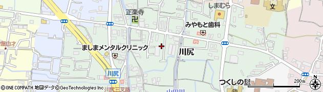 和歌山県岩出市川尻周辺の地図