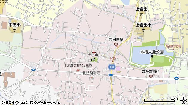 〒649-6214 和歌山県岩出市水栖の地図