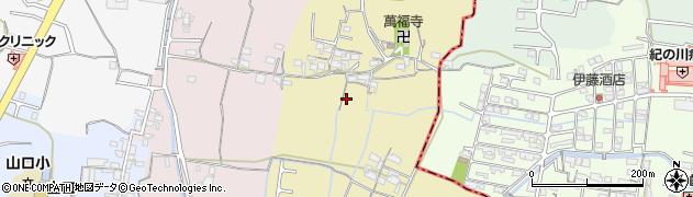 和歌山県和歌山市平岡周辺の地図