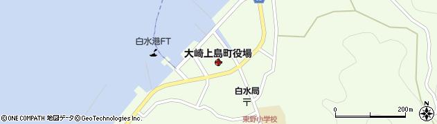 広島県豊田郡大崎上島町周辺の地図