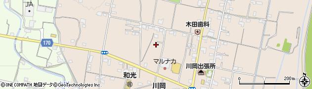香川県高松市川部町周辺の地図