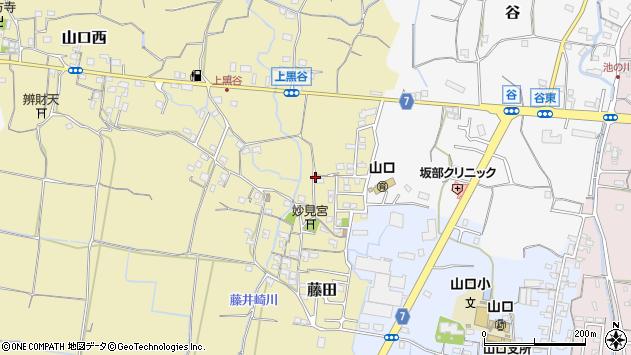 〒649-6318 和歌山県和歌山市藤田の地図