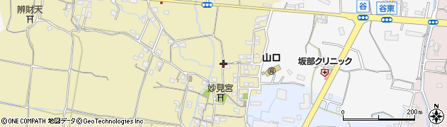 和歌山県和歌山市藤田周辺の地図