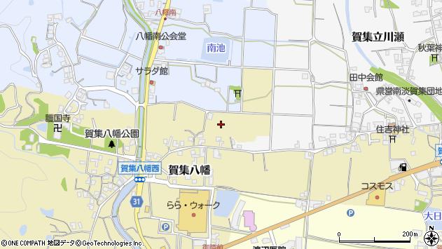 〒656-0511 兵庫県南あわじ市賀集八幡の地図