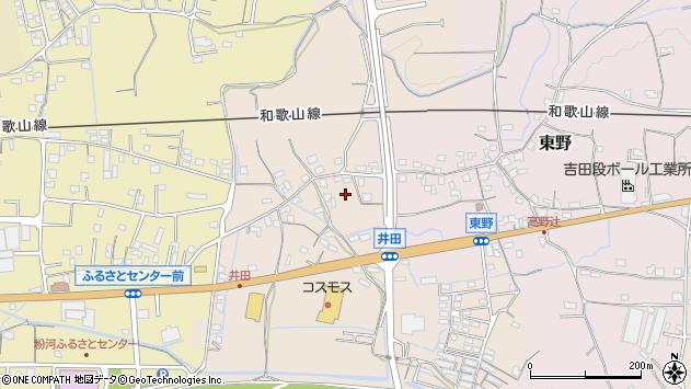 〒649-6541 和歌山県紀の川市井田の地図