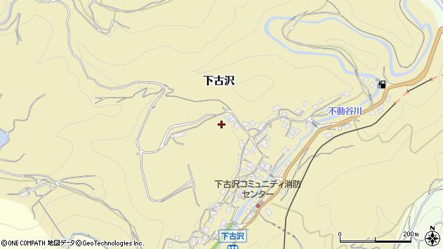〒648-0145 和歌山県伊都郡九度山町下古沢の地図