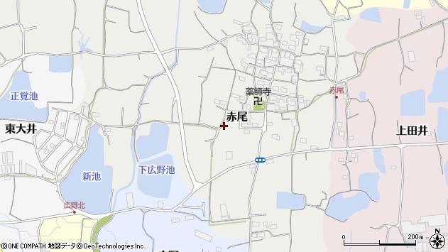 〒649-6404 和歌山県紀の川市赤尾の地図