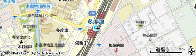 香川県仲多度郡多度津町周辺の地図