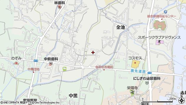 〒649-6256 和歌山県岩出市金池の地図