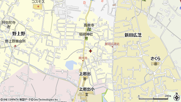 〒649-6218 和歌山県岩出市南大池の地図