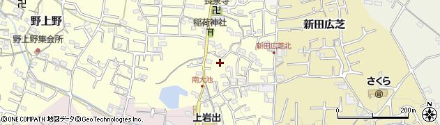 和歌山県岩出市南大池周辺の地図