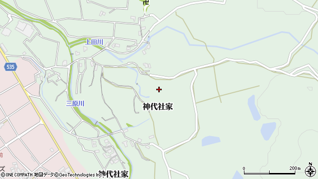 〒656-0451 兵庫県南あわじ市神代社家の地図