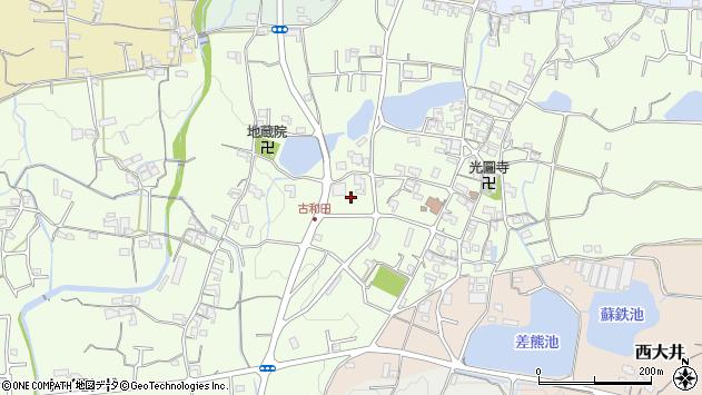 〒649-6432 和歌山県紀の川市古和田の地図