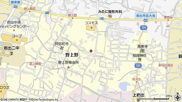 〒649-6216 和歌山県岩出市野上野の地図