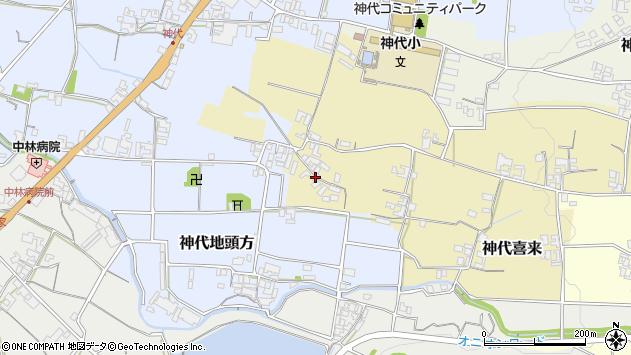 〒656-0454 兵庫県南あわじ市神代喜来の地図