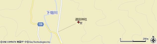 速田神社周辺の地図