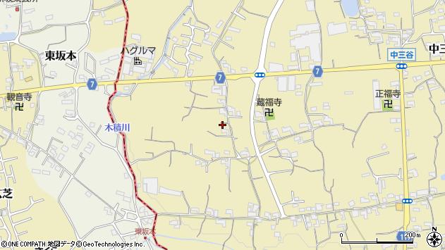〒649-6433 和歌山県紀の川市西三谷の地図