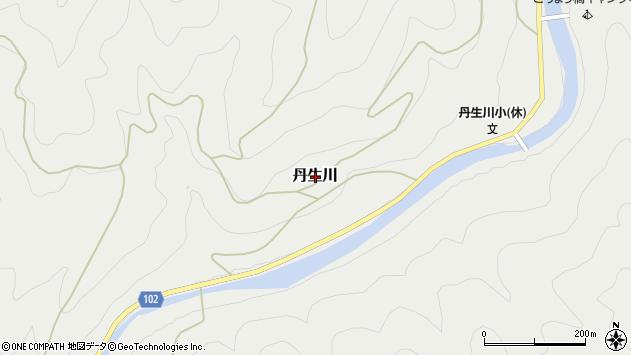 〒648-0121 和歌山県伊都郡九度山町丹生川の地図