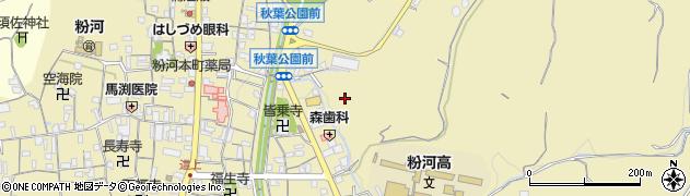 和歌山県紀の川市粉河周辺の地図