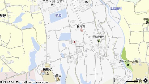 〒649-6503 和歌山県紀の川市長田中の地図