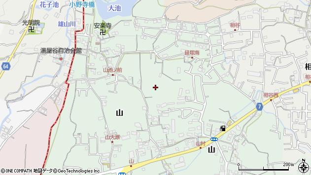 〒649-6258 和歌山県岩出市山の地図