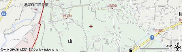 和歌山県岩出市山周辺の地図
