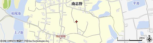和歌山県紀の川市南志野周辺の地図