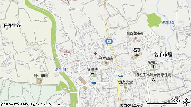 〒649-6631 和歌山県紀の川市名手市場の地図