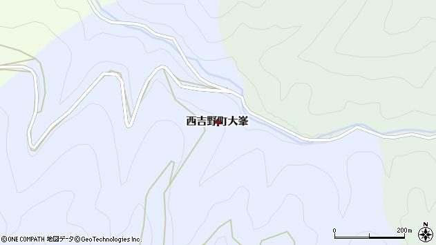 〒637-0234 奈良県五條市西吉野町大峯の地図