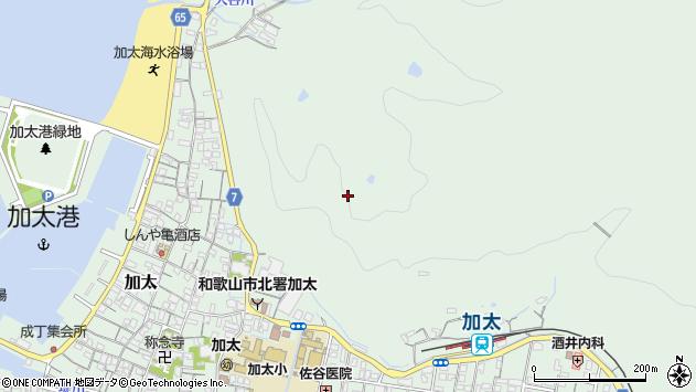 〒640-0103 和歌山県和歌山市加太の地図