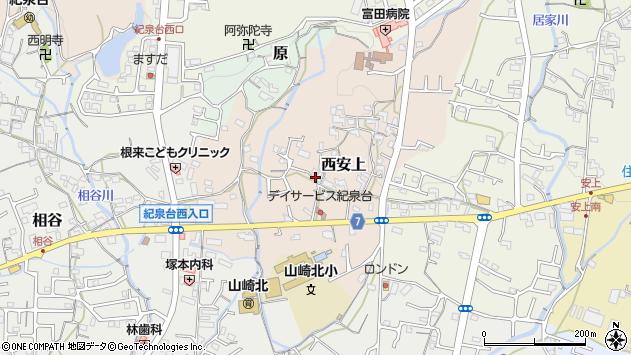 〒649-6255 和歌山県岩出市西安上の地図