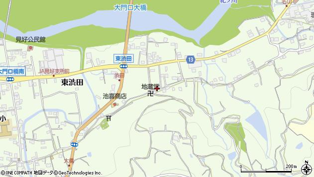 〒649-7151 和歌山県伊都郡かつらぎ町東渋田の地図