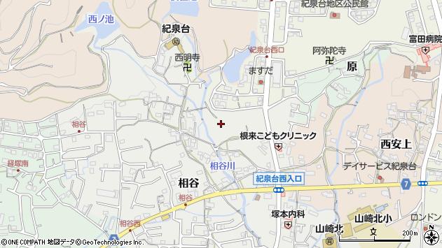〒649-6257 和歌山県岩出市相谷の地図