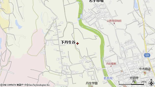 〒649-6523 和歌山県紀の川市下丹生谷の地図