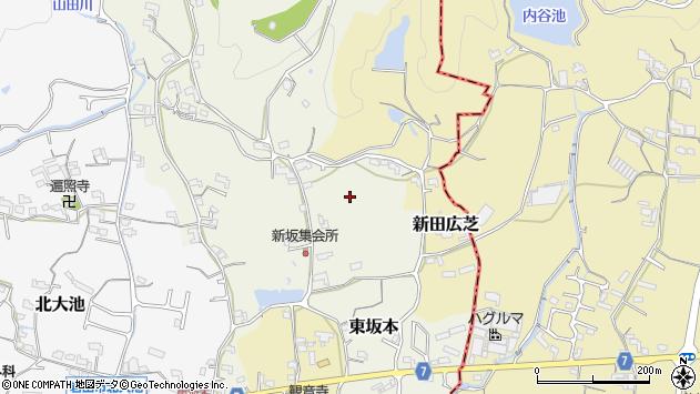 〒649-6211 和歌山県岩出市東坂本の地図