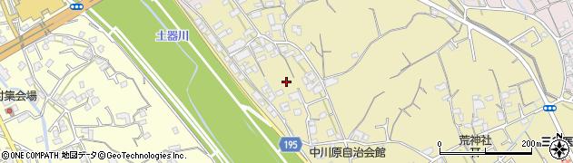 香川県丸亀市飯野町東二川辺周辺の地図