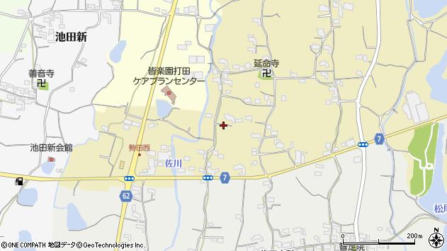 〒649-6402 和歌山県紀の川市北勢田の地図