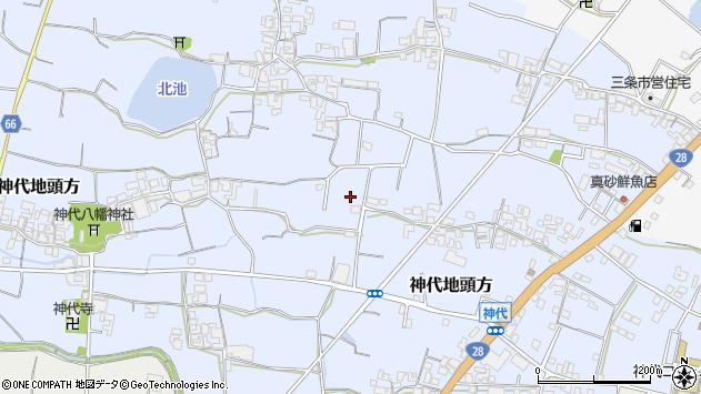 〒656-0456 兵庫県南あわじ市神代地頭方の地図