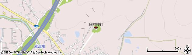 日抱神社周辺の地図
