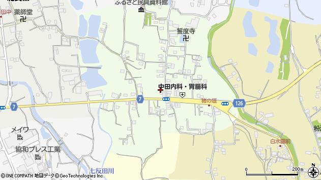 〒649-6511 和歌山県紀の川市猪垣の地図